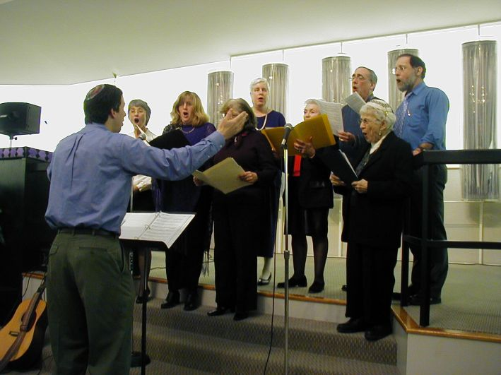 Choir rehearsal in New London, CT